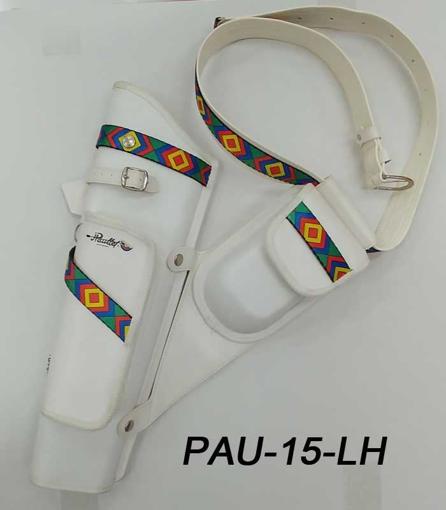 Paullet Pijlentas LH Wit Leder (Close Out)